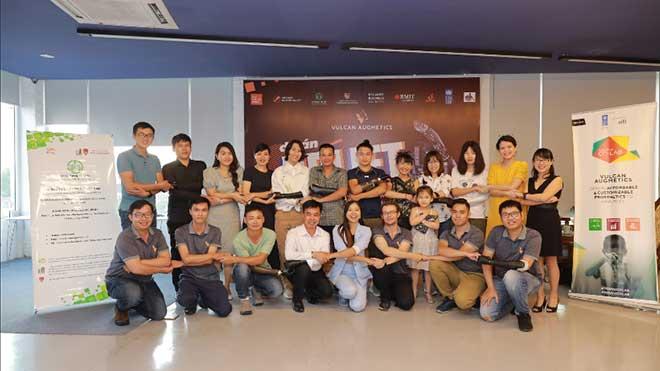 3DP Việt Nam Tài Trợ In 3D Sản Xuất Cánh Tay Robot Có Thể Cử Động Được