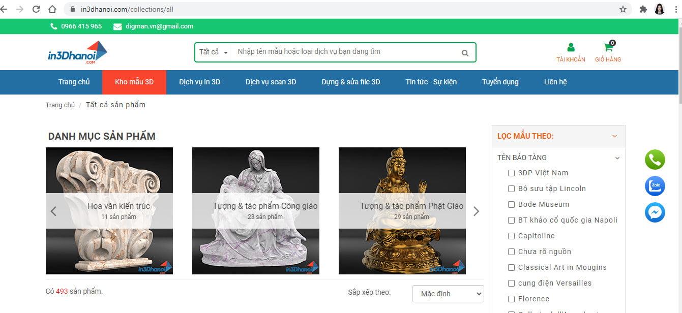 in3dhanoi.com - hỗ trợ tìm mẫu 3D miễn phí