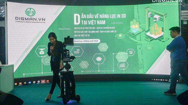 Chia sẻ về ứng dụng in 3D trong phát triển robot tại VIIE2021