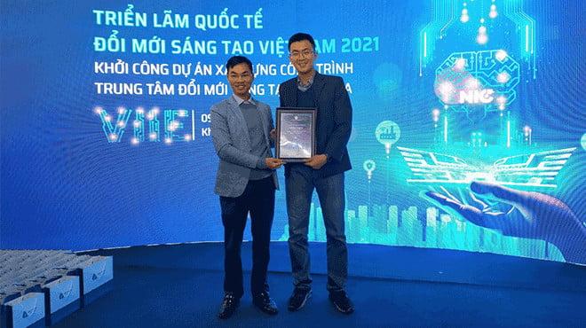 DIGMAN tham dự triển lãm quốc tế đổi mới sáng tạo Việt Nam 2021